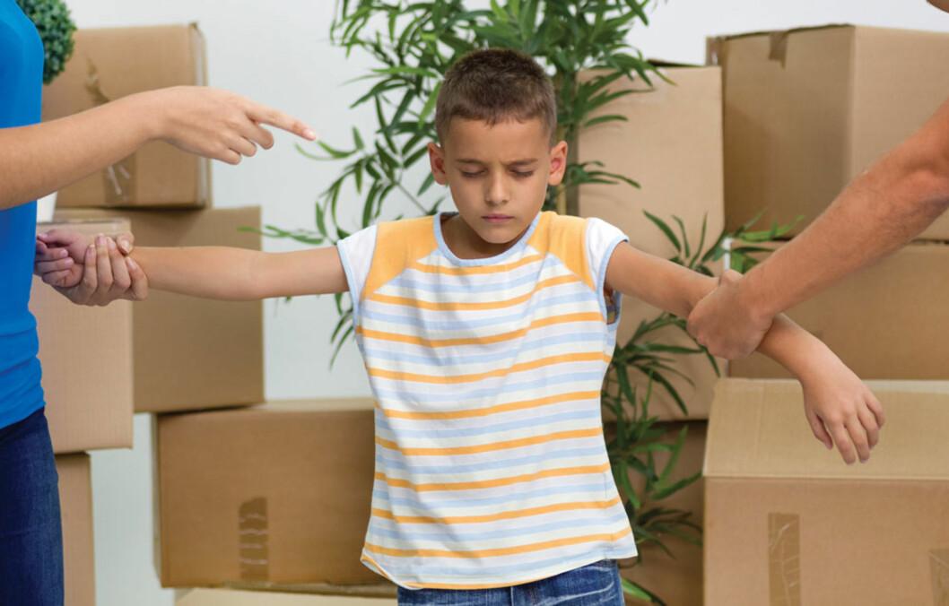 BITTER SKILSMISSE: Klarer vi alltid å tenke hva som er best for barna? ILLUSTRASJONSFOTO Foto: NTB Scanpix