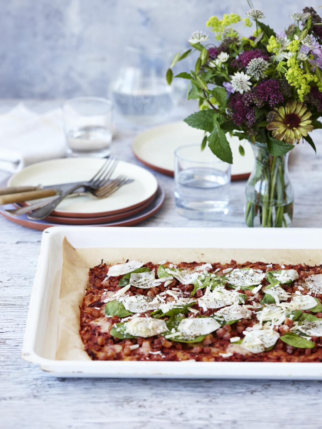 <strong>PIZZA:</strong> Er du en pizza-elsker? Denne kan nytes med god samvittighet. Foto: All Over Press Denmark