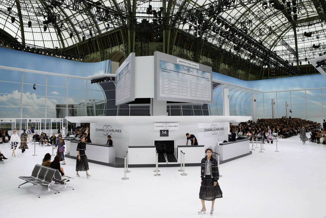 Chanel SS16. Foto: Afp