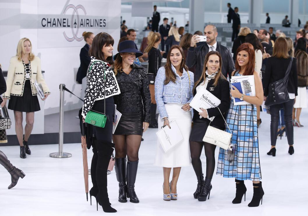 Chanel SS16. Foto: Ap