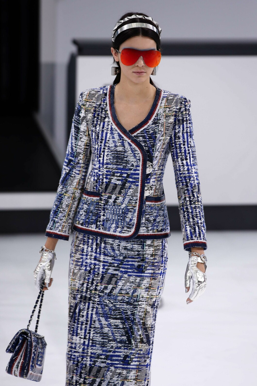 KENDALL JENNER: Chanel SS16. Foto: Afp