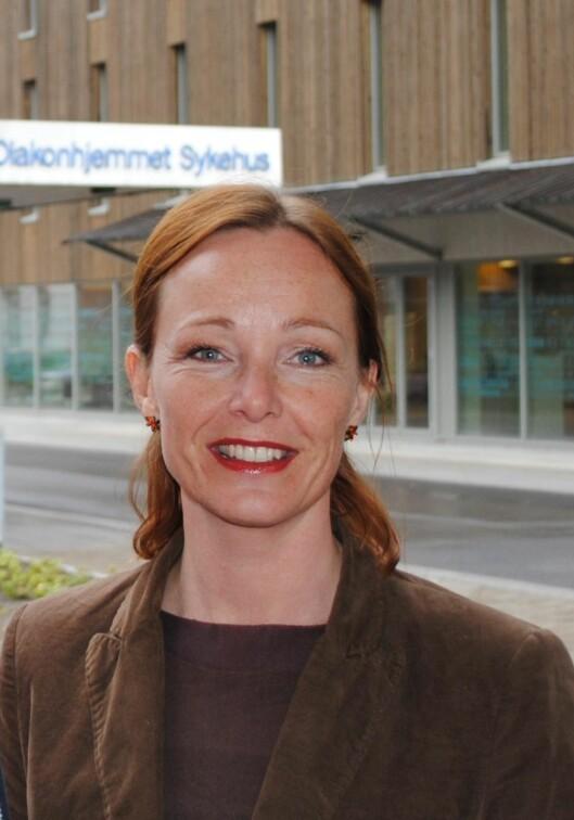 <strong>FORSKER:</strong> Forsker og fysioterapeut Rikke Helene Moe sier rundt halvparten av oss får slitasjegikt i løpet av livet.