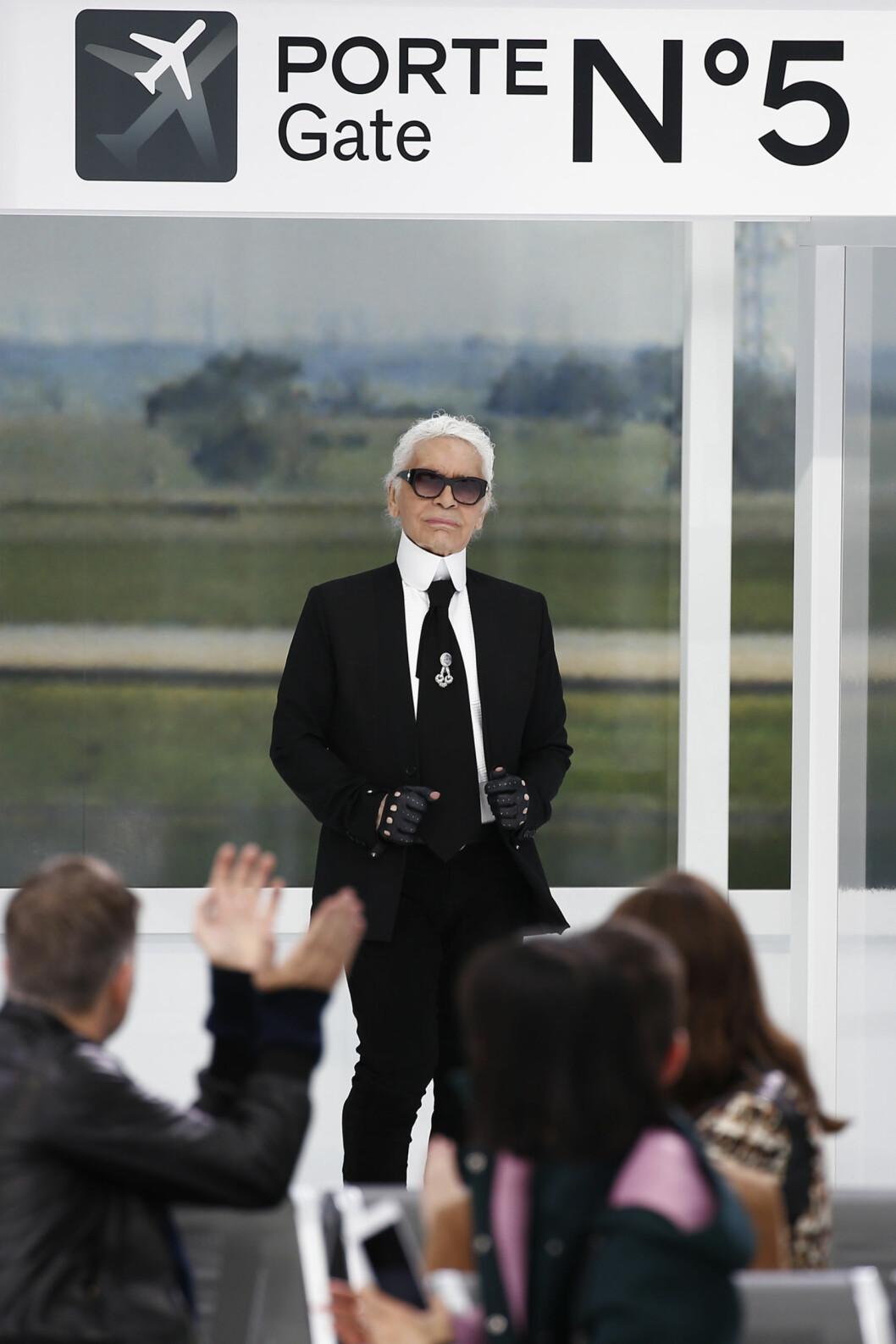 CHANEL: Karl Lagerfeld (82). Foto: Reuters