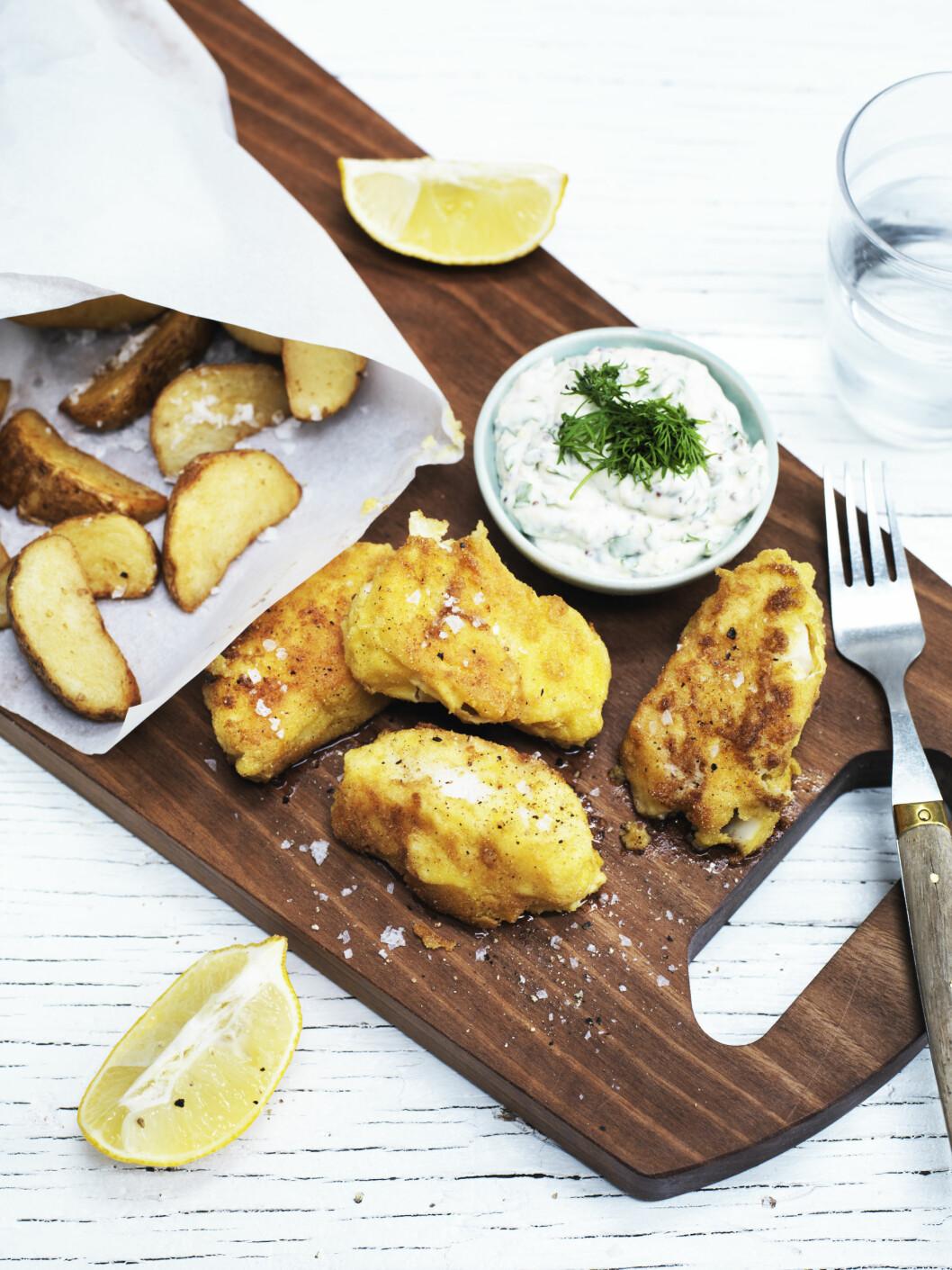 TIPS: Ovnsstek potetene i stedet for å fritere dem om du vil ha det mindre fett. Foto: Columbus Leth