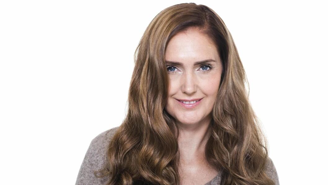 <strong>TONE DAMLI LOOK ALIKE:</strong> Med ny hårfarge og makeup, kunne Kirsten Opsahl (45) lett blitt tatt for å være Tone Damlis storesøster.  Foto: Astrid Waller