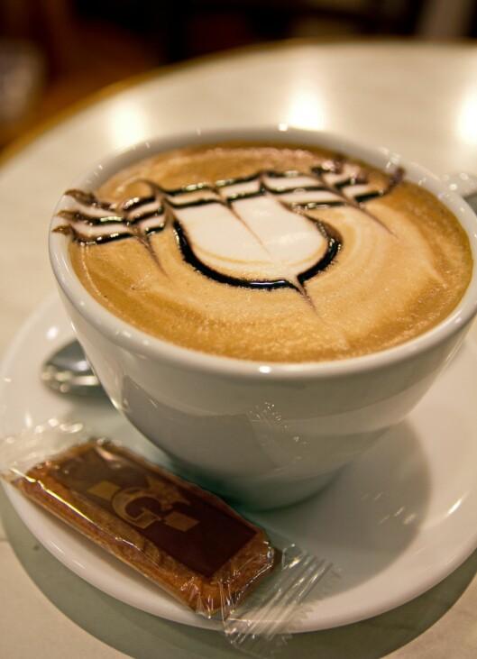 Hører med: Un café, s'il vous plaït: Kaffe på fransk maner. Foto: Jytte Boch