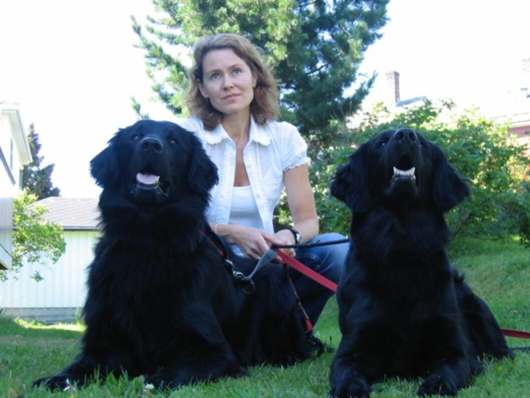 <strong>PSYKOLOG:</strong> Trude Hoff har jobbet aktivt med dyreassistert terapi i flere år.  Foto: Privat