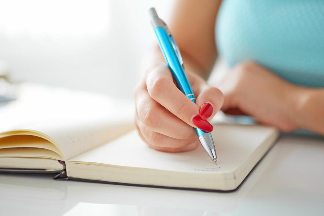 SETT DEG NYE MÅL: Skriv ned noen nye mål som motiverer deg til å fortsette vektnedgangen.  Foto: Rostislav Sedlacek - Fotolia
