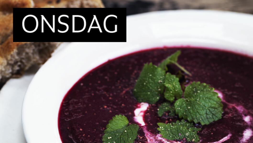 RØDBETSUPPE: Gjør suppen litt ekstra spennende og smak til med den gode rotgrønnsaken. Foto: Columbus Leth