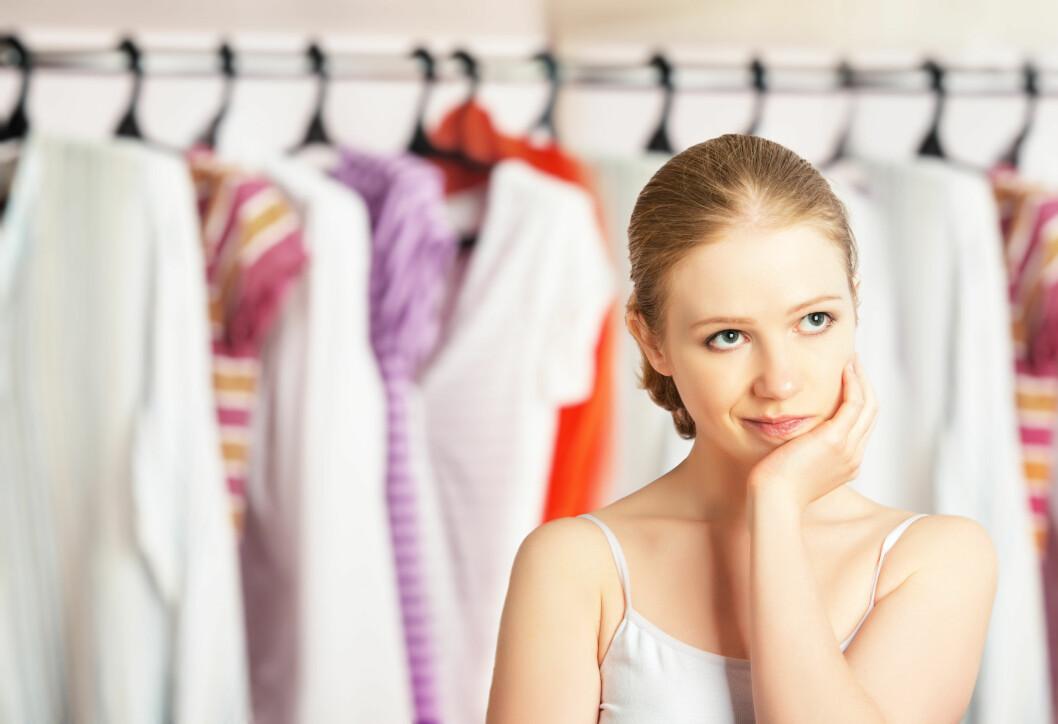 WHAT TO WEAR: Det er lurt å ha på seg anvendelige klær når du skal til gynekologen, som skjørt eller kjole. Foto: NTB Scanpix