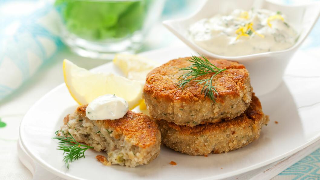 <strong>BYTT UT KJØTTET MED TORSK:</strong> Torskekaker er et godt alternativ til kjøttkaker.  Foto: sarsmis - Fotolia