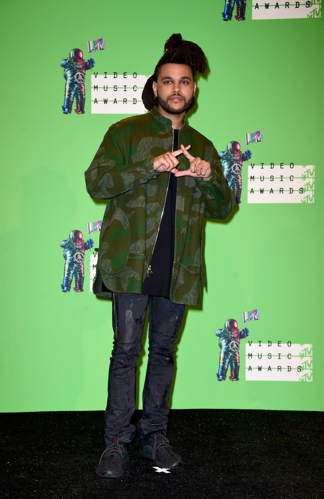 The Weeknd (25) Foto: Afp
