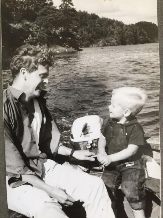 GODE VENNER: – Vi er ikke far og sønn. Vi er venner, sa faren ofte til Vetle. Foto: Privat