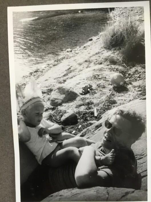 SAMMENLIGNET SEG: Ofte opplevde Vetle at han levde i sin fars skygge.  Foto: Privat