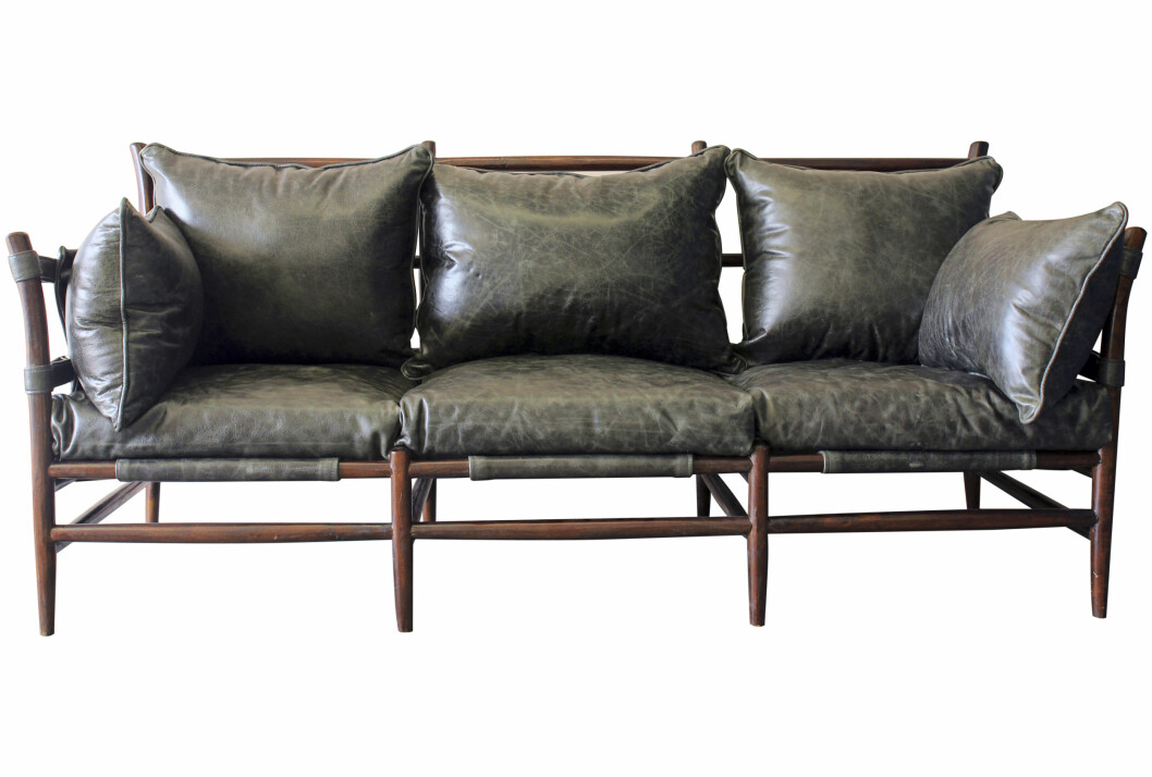 Vintage sofa (kr 30 000, rocketstgeorge.uk). Foto: Produsenten