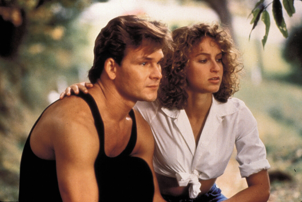 <strong>DIRTY DANCING:</strong> Patrick Swayze og Jennifer Grey. Foto: Scanpix