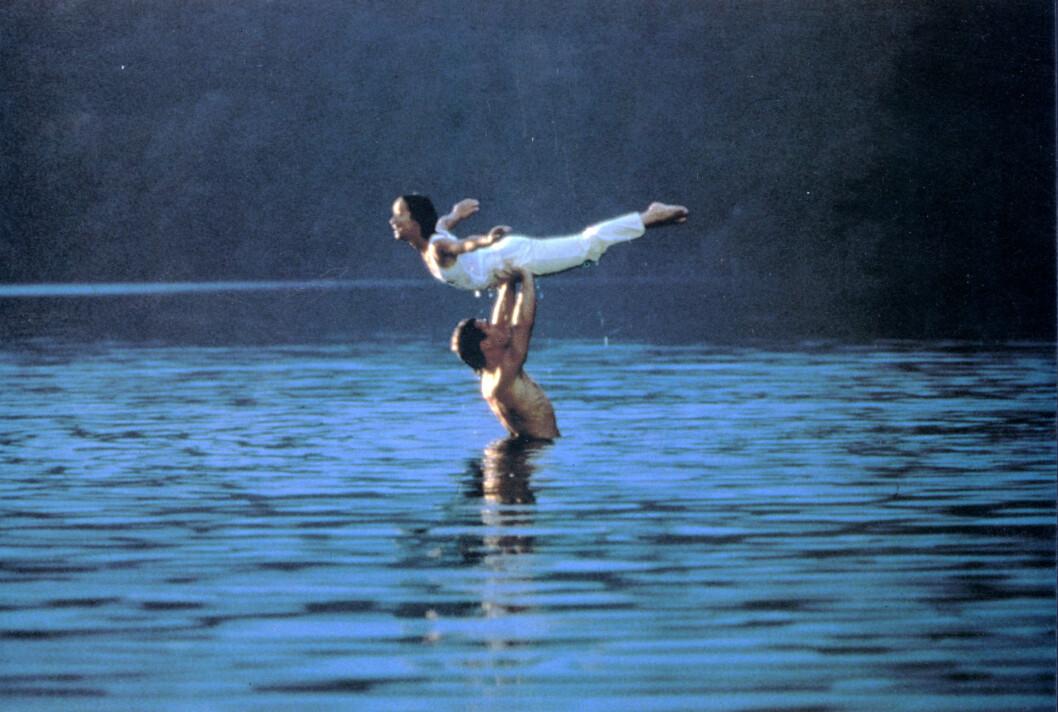 DIRTY DANCING: Løftet Patrick Swayze og Jennifer Grey tok pusten fra publikum. Foto: Mary Evans Picture