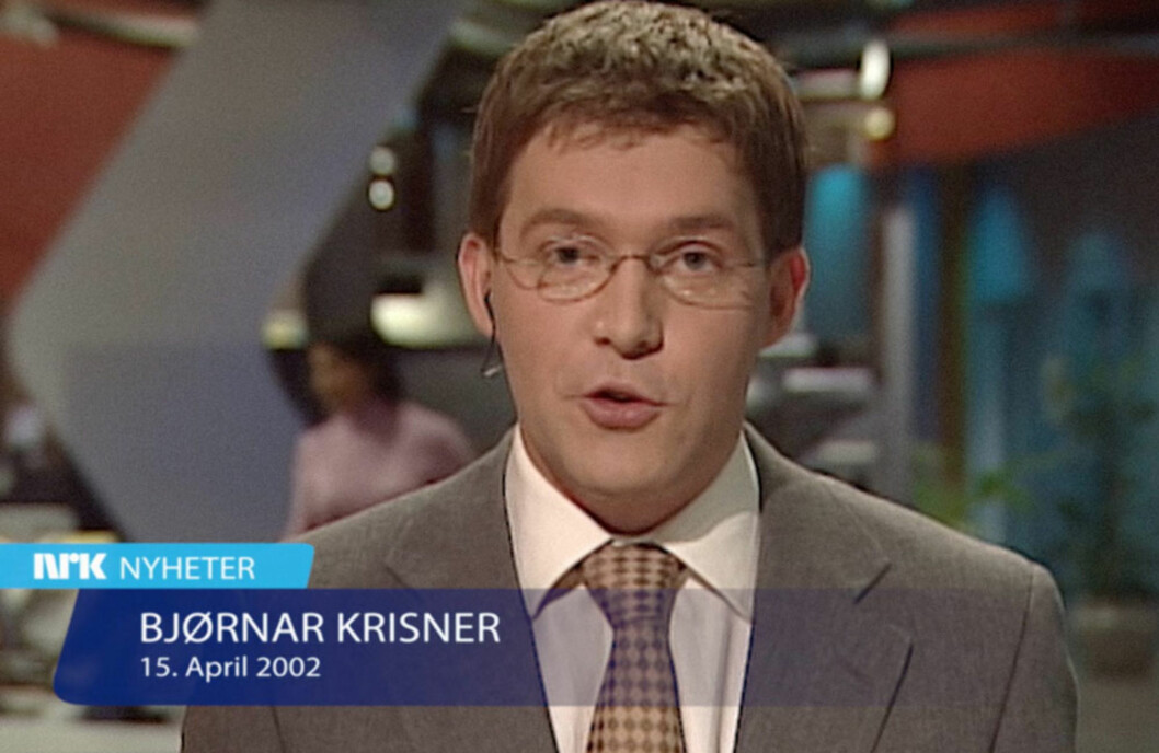 NYHETSOPPLESER: Bjørnar var 25 år gammel og i starten av tv-karrieren da han ble syk. Foto: Privat