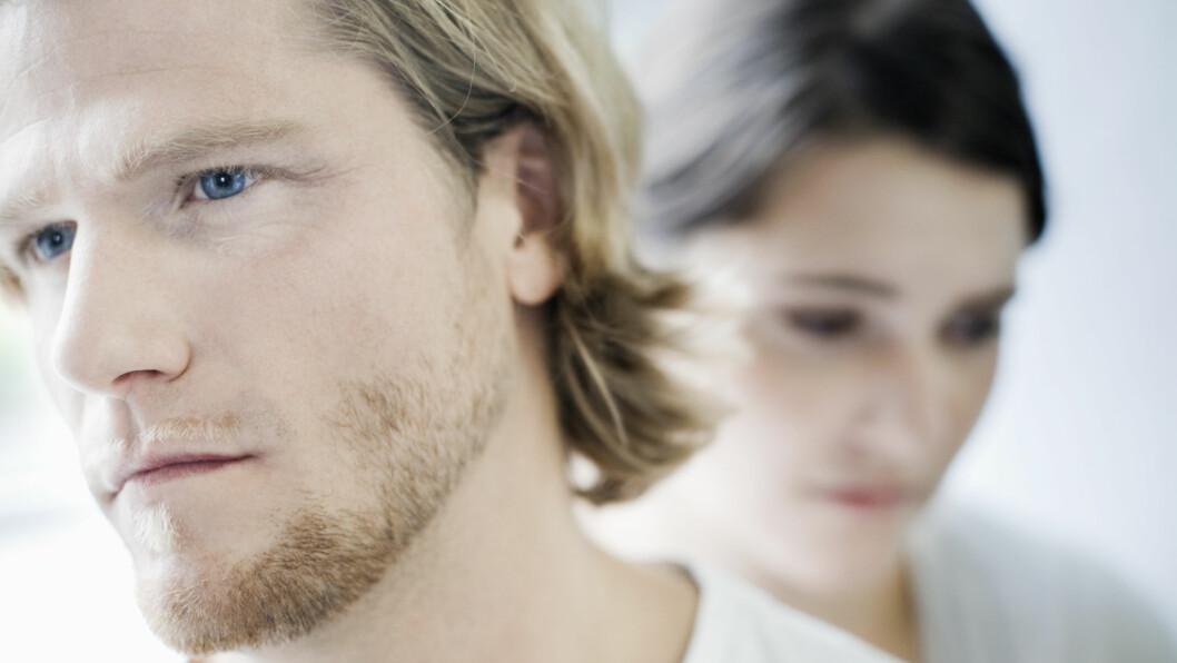 MANGEL PÅ INTIMITET: Mange par opplever at de gode klemmene og de lidenskapelige kyssene forsvinner med tiden. Heldigvis finnes det råd!  Foto: Scanpix
