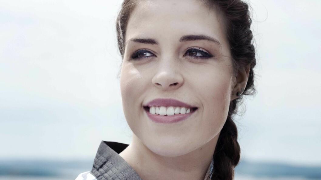 FIKK ME: Tina Røe Skaar (21) var syk i tre år. Nå er hun frisk, toppidrettsutøver og satser mot OL i 2016. Foto: Julie Kristine Krøvel