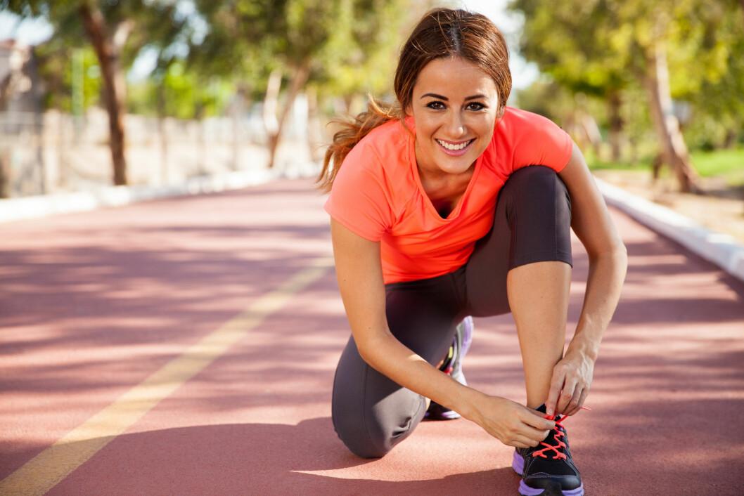 START ROLIG: Er du nybegynner, ikke ta i for mye i starten. Det vil føre til at du kan miste motiasjonen på grunn av støle legger etter en hard økt.   Foto: Fotolia