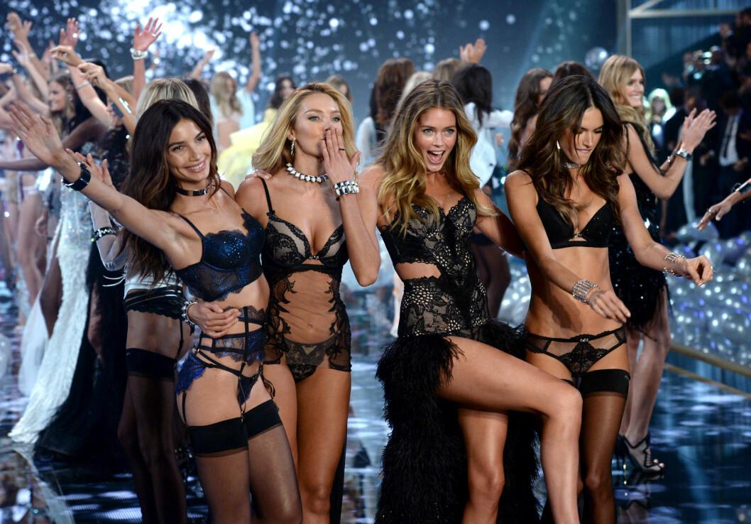 VISER UNDERTØYSKOLLEKSJON PÅ TV: Victoria's Secret Fashion Show blir bare større og større for hvert år. Foto: Pa Photos
