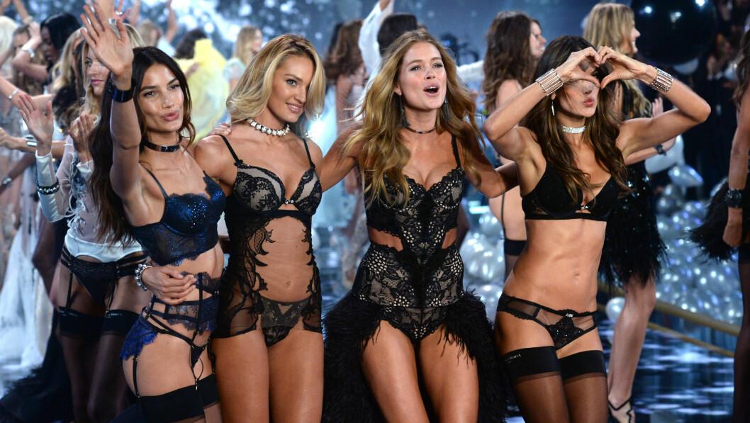 VICTORIA'S SECRET: Englene har tidligere blitt omtalt som for tynne. Nå vil modellene ha flere formfulle kvinner på catwalken. Foto: Pa Photos