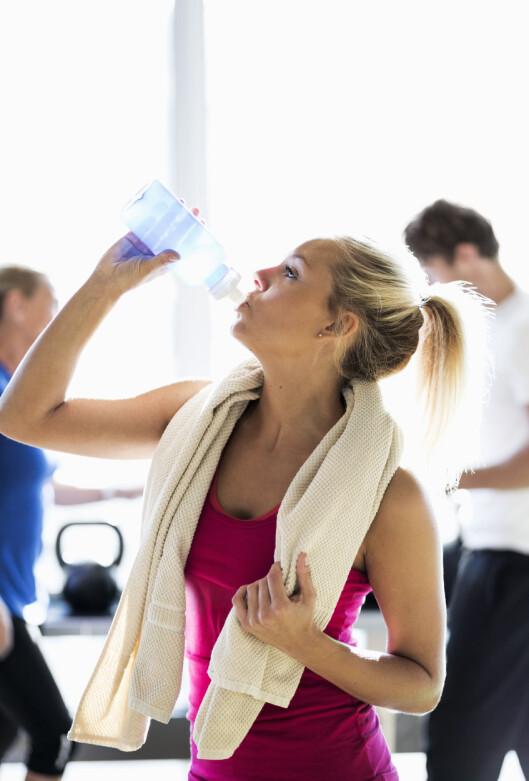 EN TING OM GANGEN: Start med treningen først, og så tar du heller kosthold og andre uvaner senere, er rådet fra eksperten. Foto: Scanpix