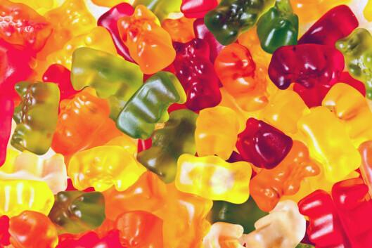 GODTERI: Gelegodteri er fullt av sukker og tilsetningsstoffer og tilfører ikke kroppen noe som er bra.  Foto: Scanpix