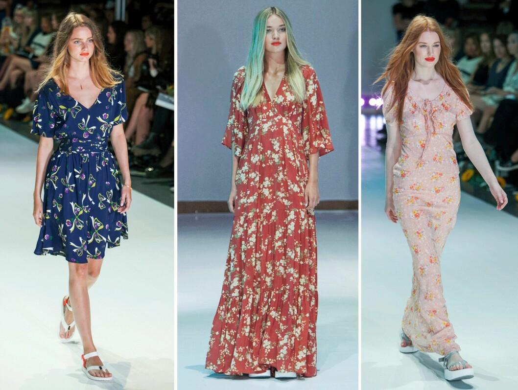 VAKRE KJOLER: Kjolene til byTiMo har blitt kjempepopulære - og neste års modeller skal ha blomsterprint.  Foto: Per Ervland