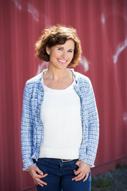 Ernæringsfysiolog i Grete Roede, Kari Bugge. Foto: Svein Brimi