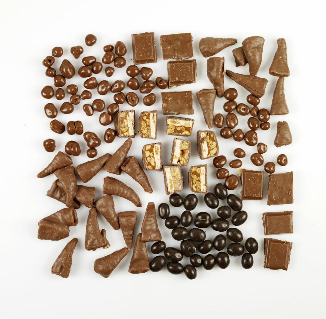 EN USLÅELIG KOMBINASJON: Smaker sjokoladen både søtt og salt, vil vår opplevelse av nytelse ved å spise den, trigges. Foto: Grete Roede AS/Inkognoto, Baard Næss