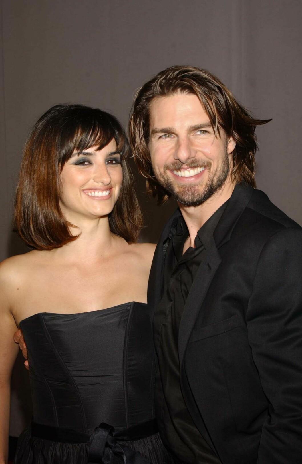 SAMMEN I TRE ÅR: Forholdet skal ha tatt slutt da Penelope Cruz ikke ville gi opp sin buddhistiske tro i fordel for Tom Cruises scientologikirke. Foto: SipaUSA