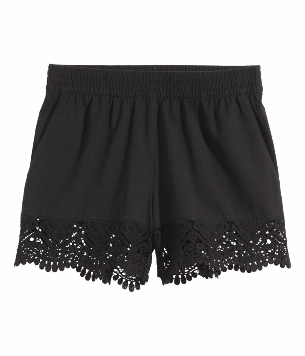 Shorts fra H&M, kr 199. Foto: Produsenten