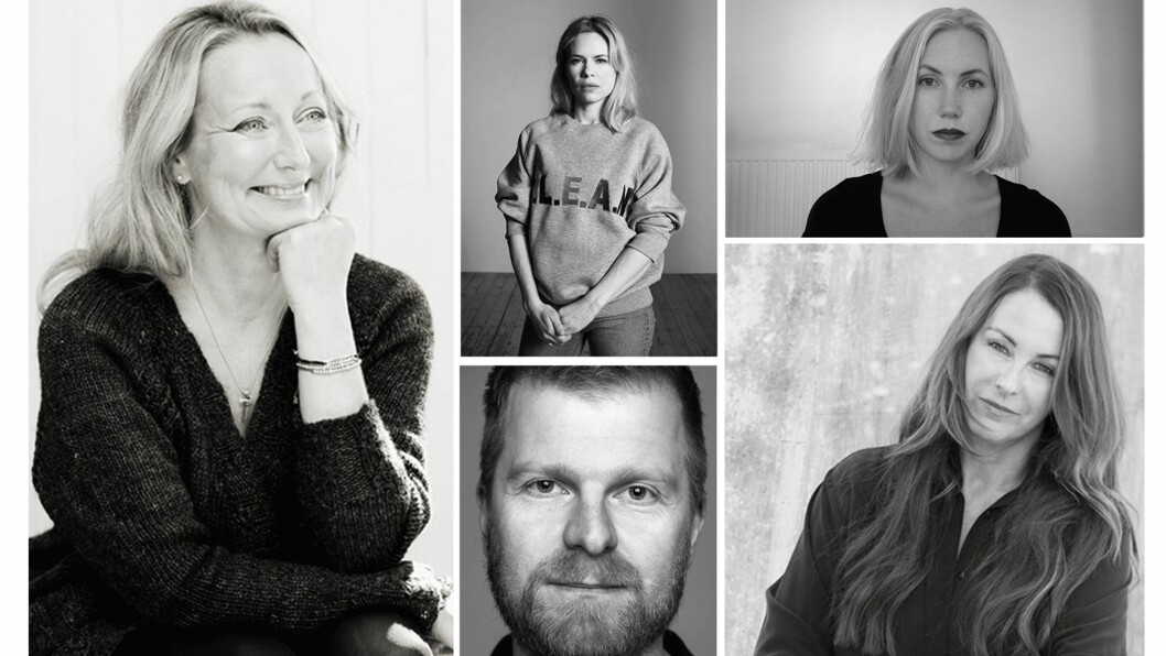 OSLO RUNWAY: Disse designere skal vise sine kolleksjoner under Oslo Runway.  Foto: Monica Kvaale, Alberto Palladino, Geir Mogen, Timo Wirsching, Hinda Fahre