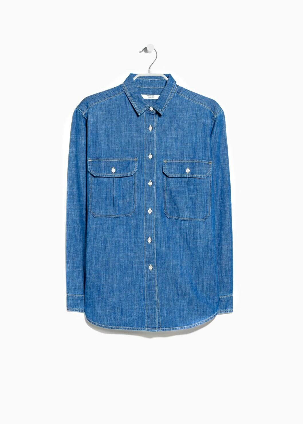 Skjorte fra Mango, kr 149. Foto: Produsenten