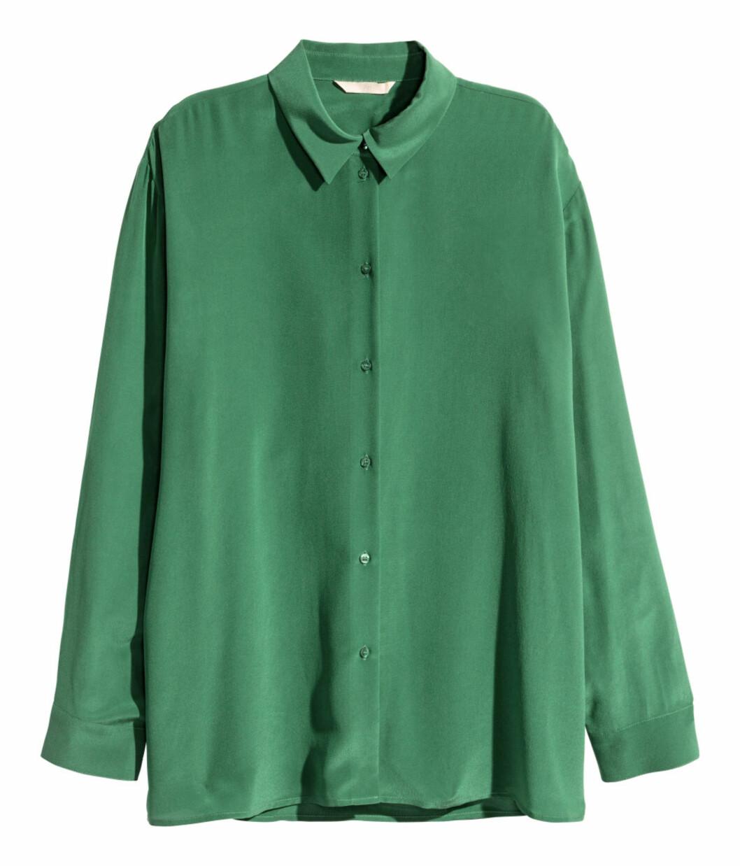 Skjorte fra H&M, kr 599. Foto: Produsenten