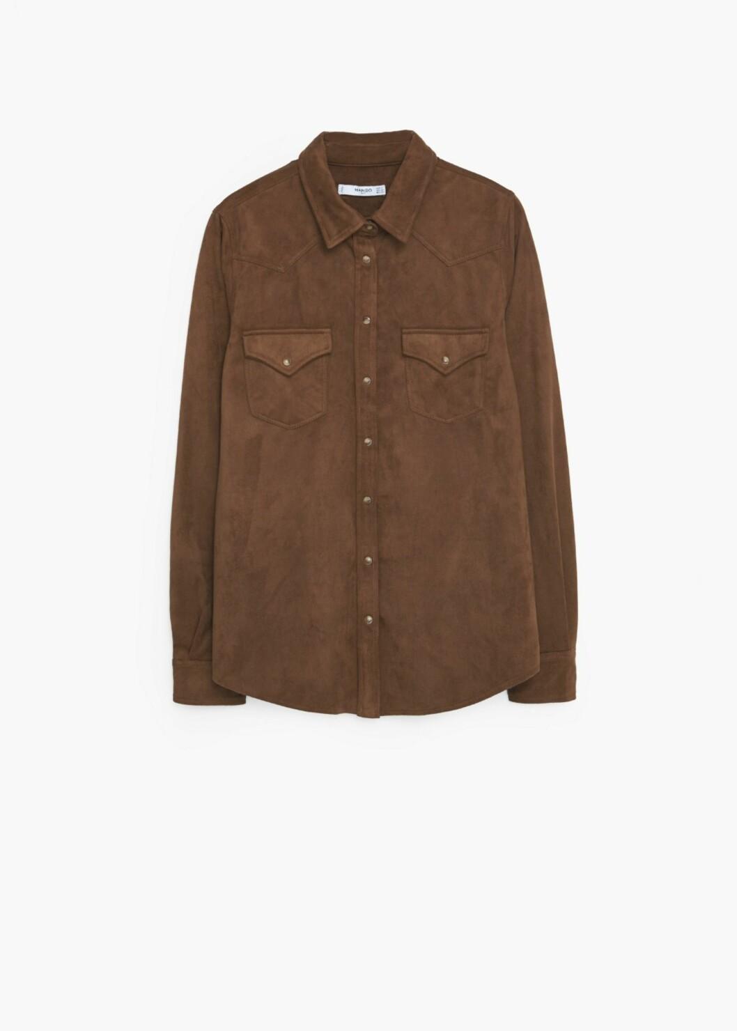 Skjorte fra Mango, kr 499. Foto: Produsenten