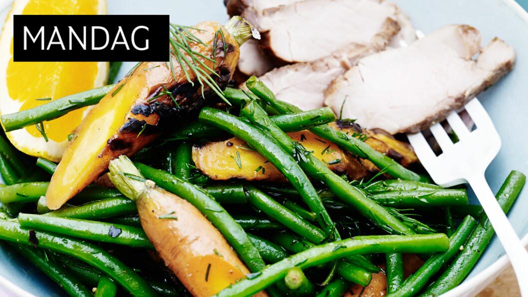 DEILIG: Når mørbraden marineres i soya, blir kjøttet ekstra mørt og får en deilig smak. Foto: All Over Press