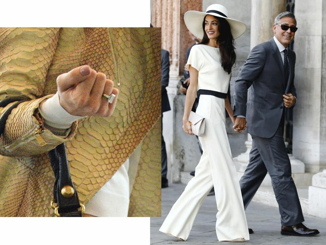 Amal (37) og George Clooney (54). Foto: Scanpix