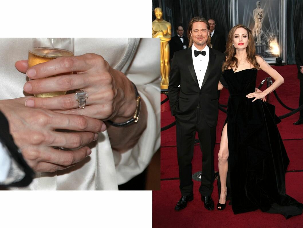 Brad Pitt (51) og Angelina Jolie (40). Foto: Scanpix