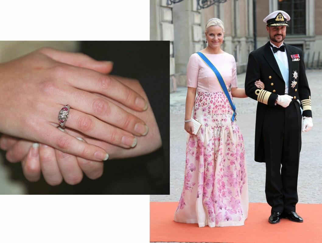 Kronprinsesse Mette-Marit (41) og kronprins Haakon (42). Foto: Scanpix