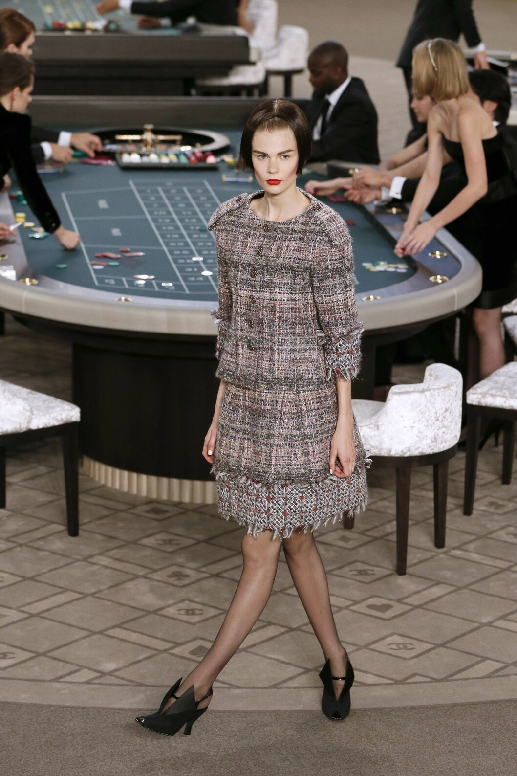 Chanel Couture Foto: Afp