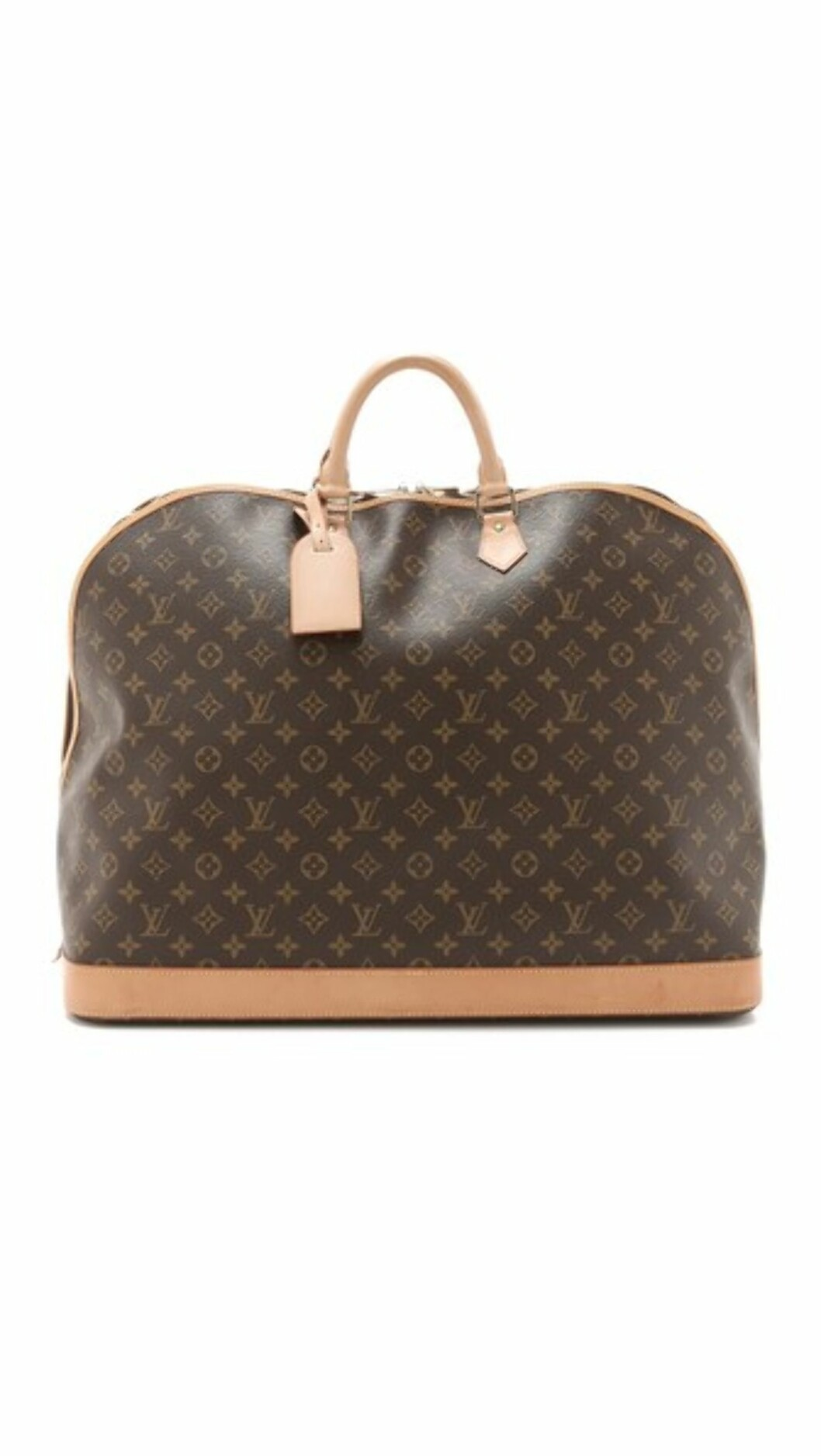 WEEKEND BAG: Luis Vuitton, kr 23 200.  Foto: Stylebop.com