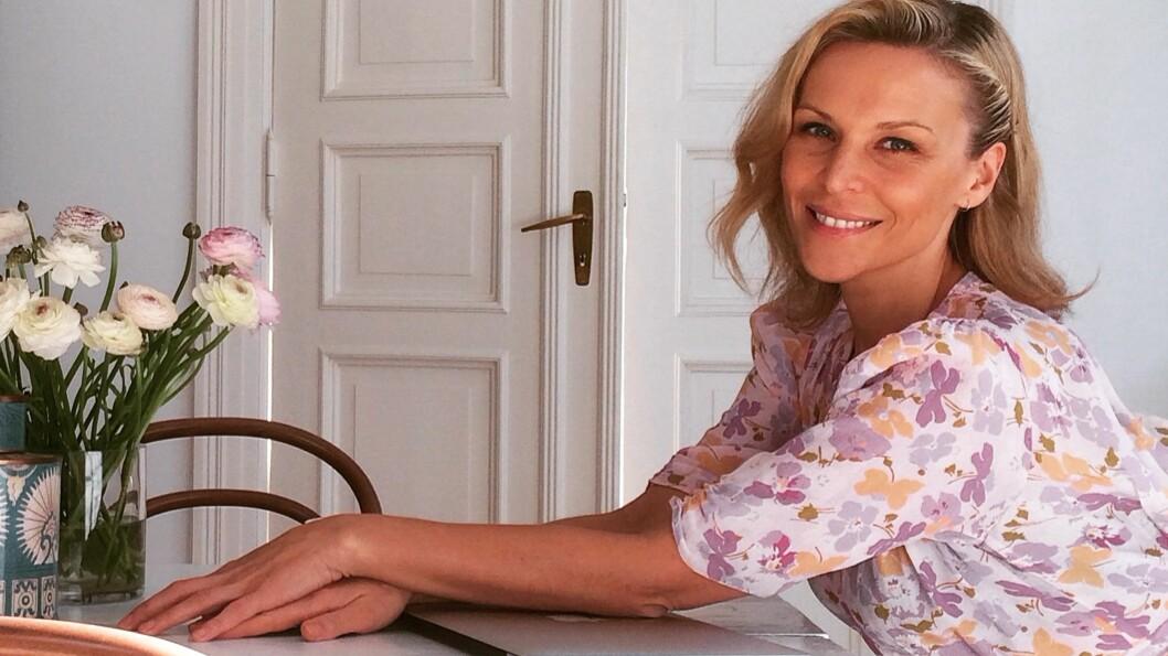 VANESSA RUDJORDS LEILIGHET: Den tidligere Costume-redaktøren har delt bilder av leiligheten sin på Frogner.  Foto: Privat