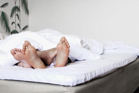 SØVN OG SEX: Ifølge den danske forskningsrapporten bør man ikke bruke soverommet til annet enn søvn og sex. Foto: Scanpix