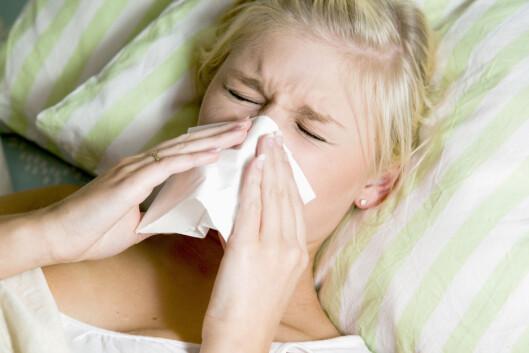 SYK OFTE?: Blir du oftere syk for tiden? Da kan være tegn på jernmangel.  Foto: Maskot