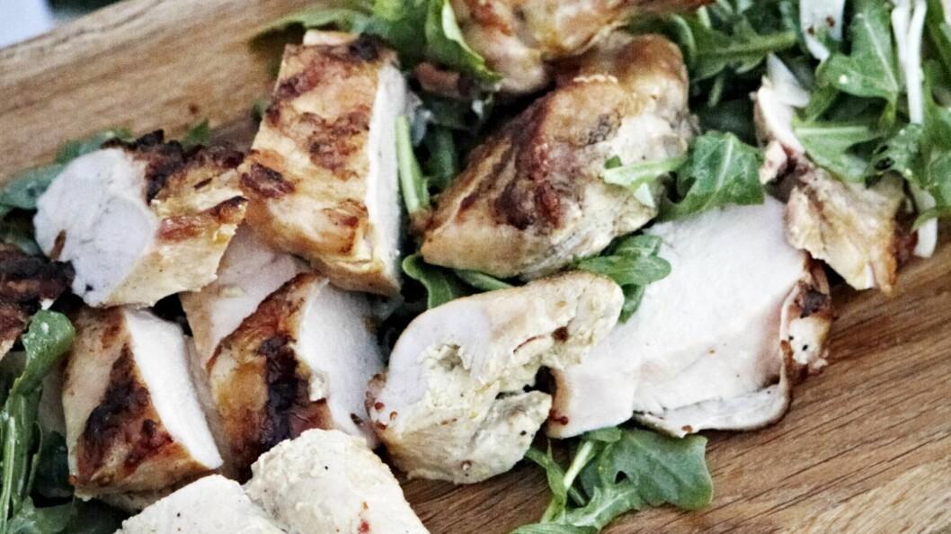 ØKOLOGISK: Hva med å prøve denne kyllingretten?  Foto: All Over Press