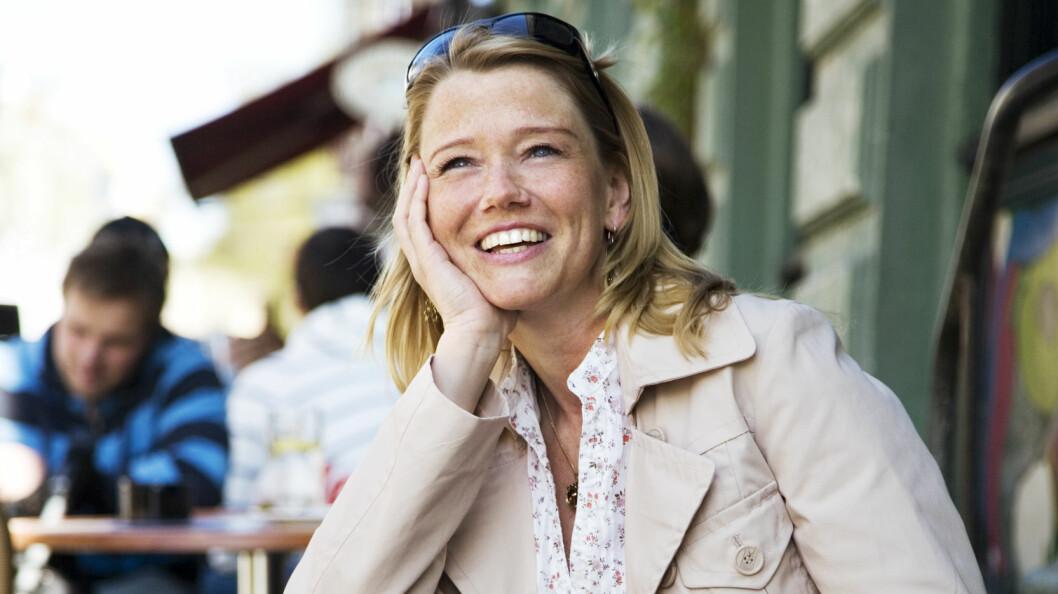 TENK DEG LYKKELIGERE: Det er fullt mulig å tenke seg lykkeligere, sier mentaltrener Christine Otterstad. Foto: Scanpix Norway