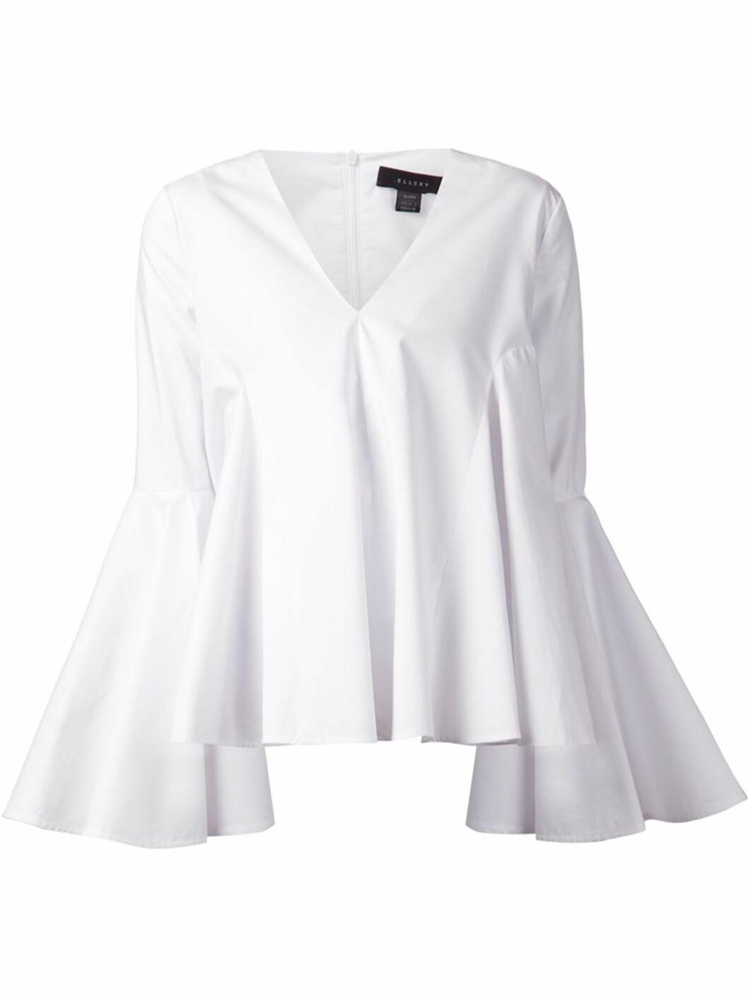 TRENDSKJORTEN: Skjorten fra Ellery har fått stor oppmerksomhet i motebildet den siste tiden.  Foto: Elleryland.com